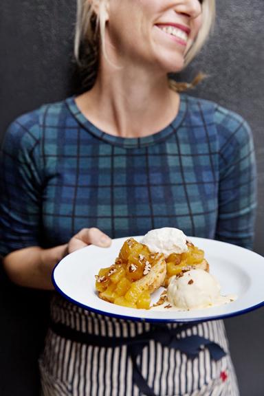 Caramelized Pineapple Shortcake