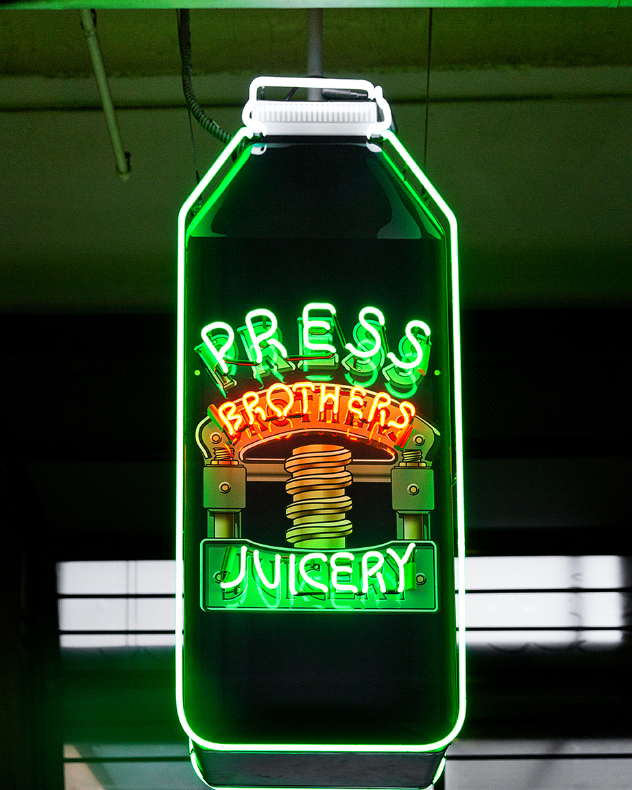 Press Brothers Juicery in Grand Central Market.