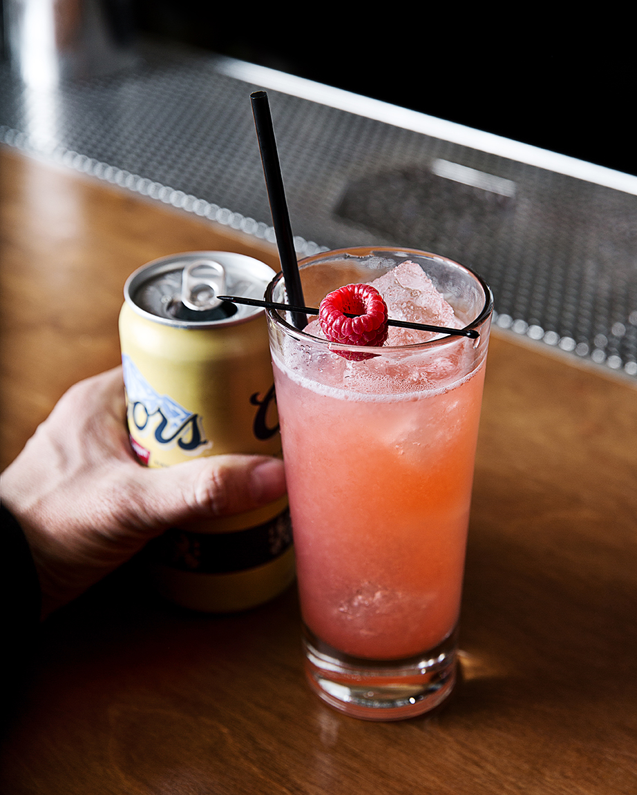 Raspberry-infused agave syrup meets some jalapeño spice in the Cisco Kid cocktail. | Photo Dylan + Jeni.