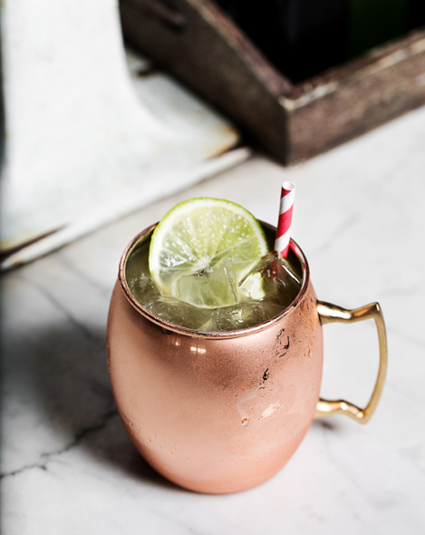 Moscow Mule. | Photo by Dylan + Jeni.