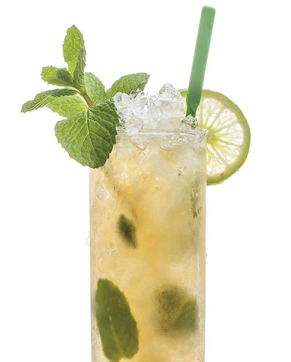 Queen's Park Swizzle. | Photo by Stuart Mullenberg.