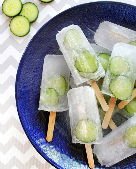 gin & tonic popsicles