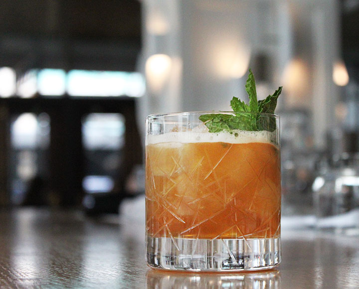 Herbaceous Julep. | Photo by Ray Anguiano.