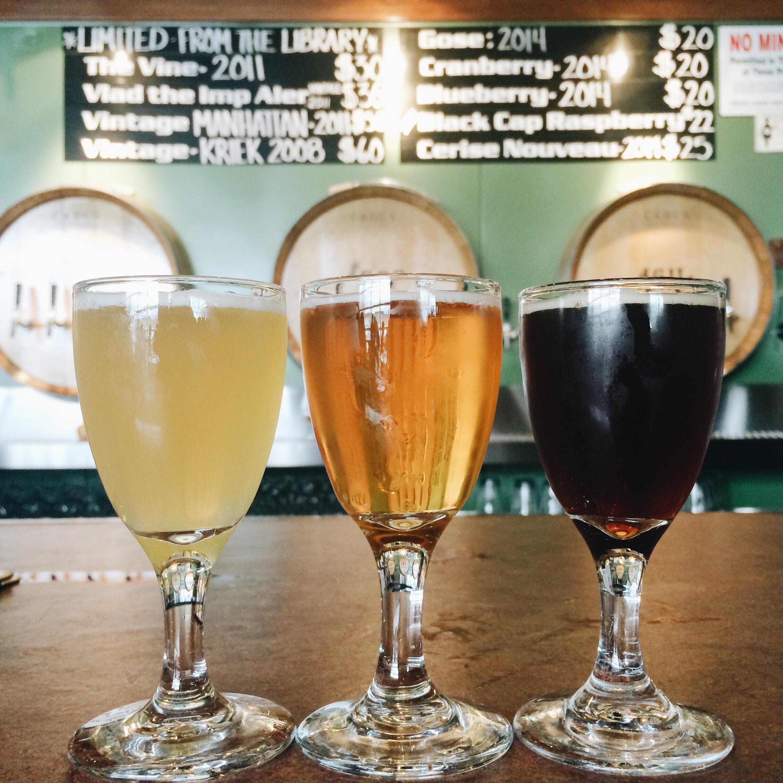 beer-flight-cascade-brewing-crdt-emma-janzen