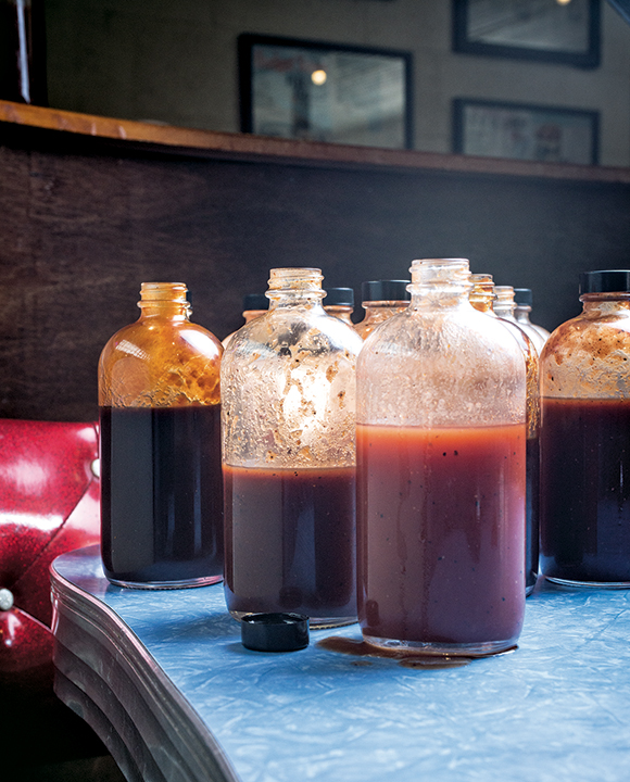 Fig Ancho Beer BBQ Sauce. | Photo by Jordan MacKay.