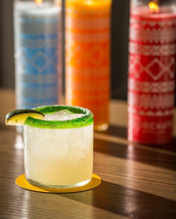 Hot peppers up the spice while cucumber cools things down in this summery Cucumber Jalapeno Margarita. | Photo by Noah Fecks.