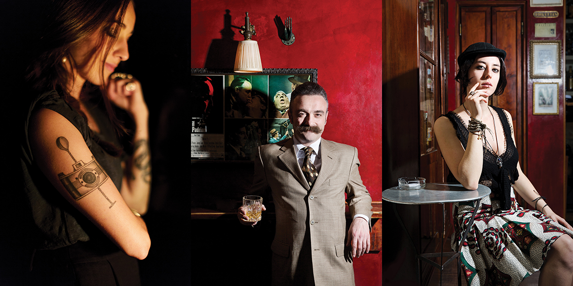 The Jerry Thomas Project is the city's Romulus of cocktails. Since its 2009 debut, this bar has become a point of reference for local bartenders as well as cocktail professionals worldwide, and it has championed an improved approach to drinks on both sides of the bar. Pictured: Antonio Parllapiano.