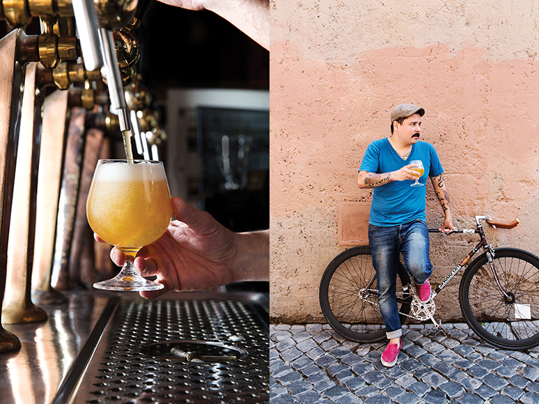 Ma Che Siete Venuti a Fà (Macchè to regulars) in Trastevere has been actively preaching the craft-beer gospel for years.  It's packed most nights, and drinkers fill the cobblestone street outside, sipping sour ales from Piedmont's Loverbeer and Franconian lager in kegs brought in from Germany.