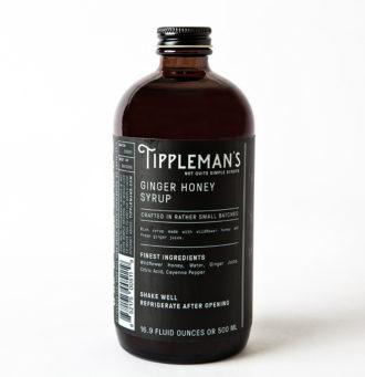 tipplemans ginger honey syrup