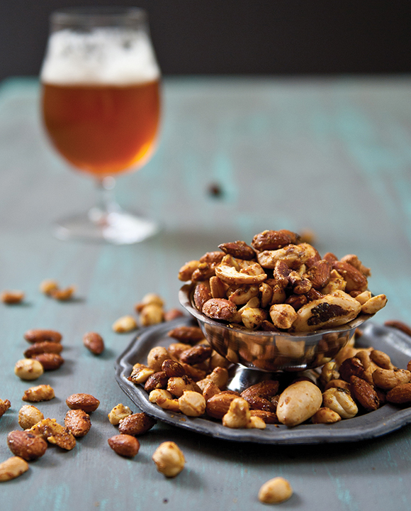 Curried Belgian Ale Mixed Nuts. | Photo by Jacqueline Dodd.