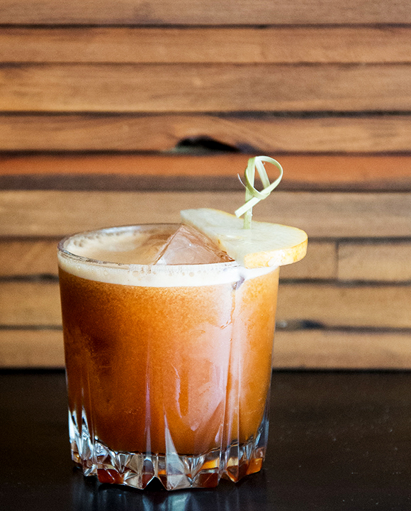 Good 'Ol Boy Brown Butter Whiskey Cocktail. | Photo by Katie Burton.