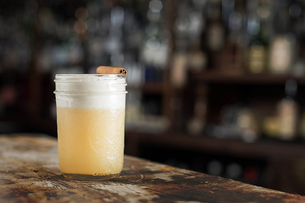 Rye Maple Fizz. | Photo courtesy of Eveleigh.