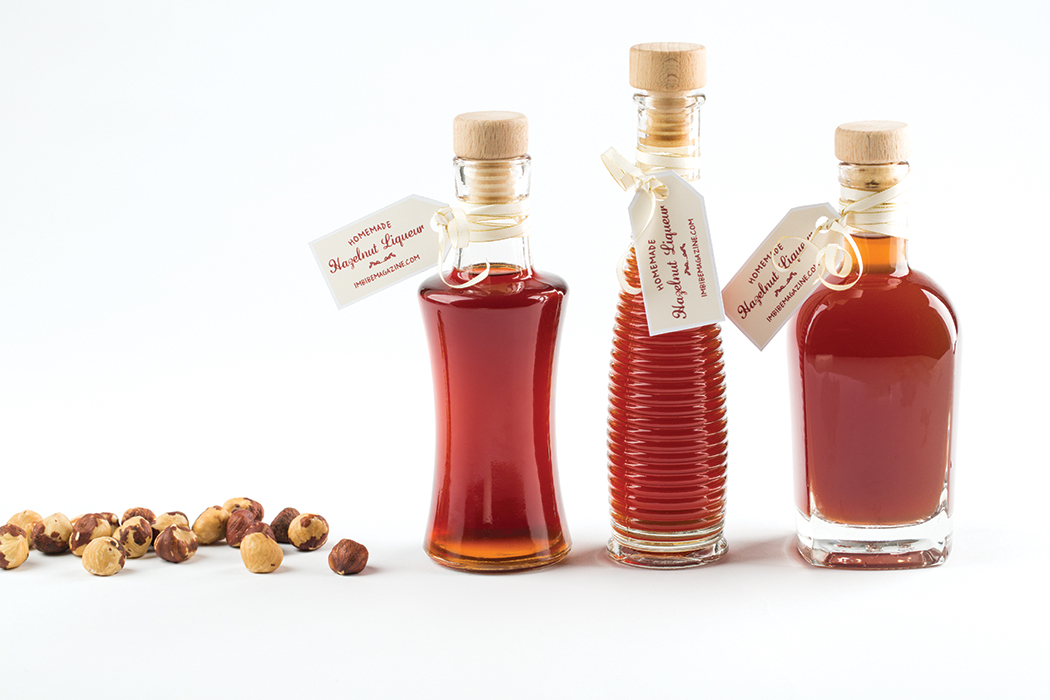 Homemade Hazelnut Liqueur