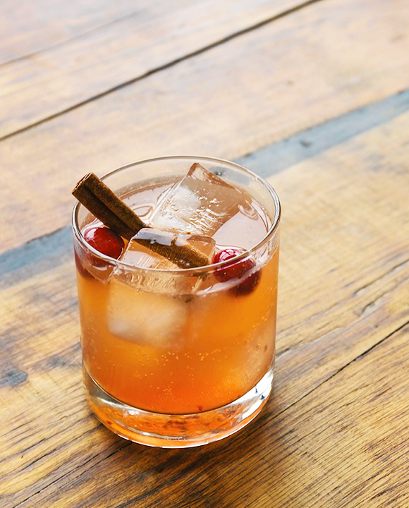 Cranberry Rum Punch.   Photo by Eric Prum and Josh Williams.