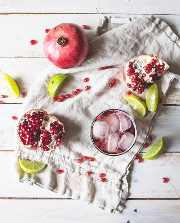 pomegranate ginger mocktai-vertical-crtsy offbeatandinspireddotcom