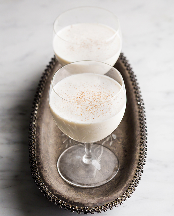 Classic Brandy Milk Punch.  | Photo by Lara Ferroni.