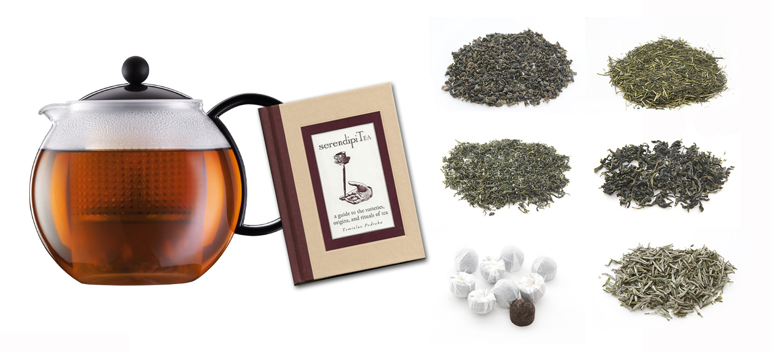SerendipiTea Premium Tea Package