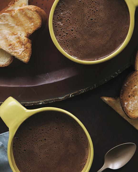 Thierry Rautureau's Chocolat Chaud Grand-Mère