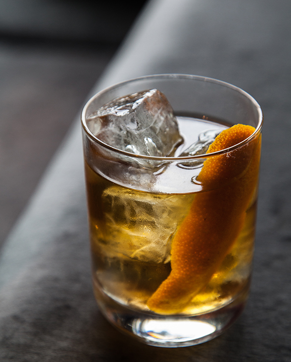 Walnut Old Fashioned. | Photo by Dillon Burke.