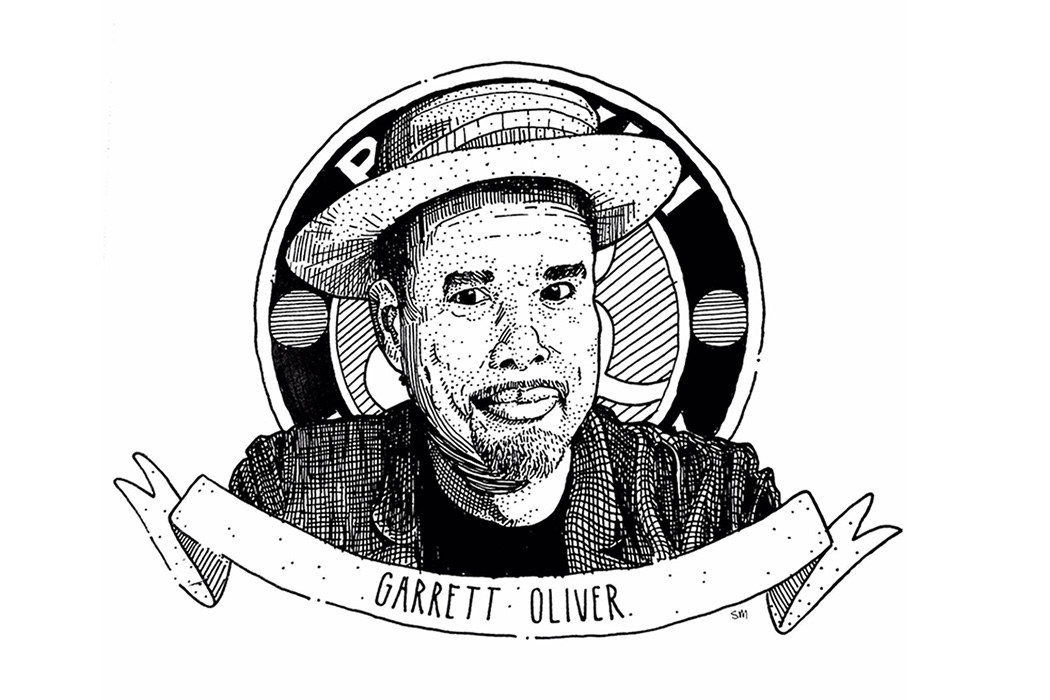 Not only has Garrett Oliver been the brewmaster at Brooklyn Brewery since 1994, he is also the editor-in-chief of The Oxford Companion to Beer and The Brewmaster's Table about beer and food paring.