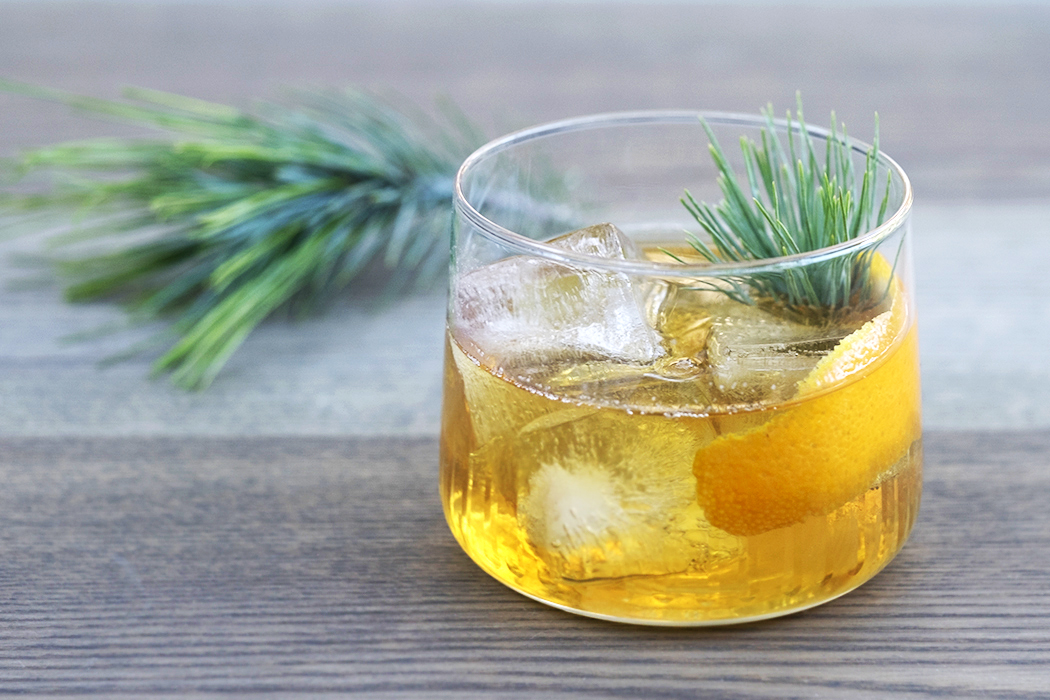 Rye and Pine Old Fashioned. | Photo by Emily Han.