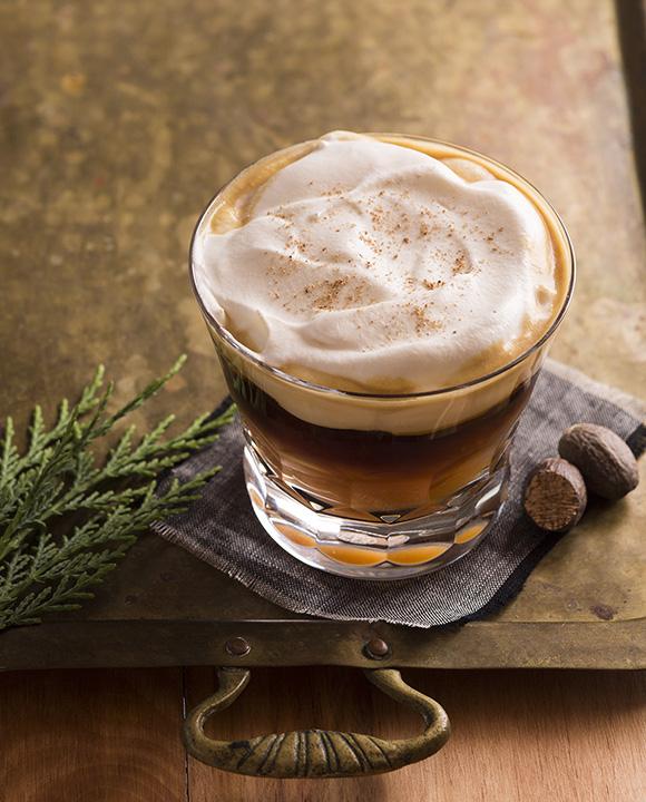 Strato Dessert Cocktail. | Photo by Lara Ferroni.