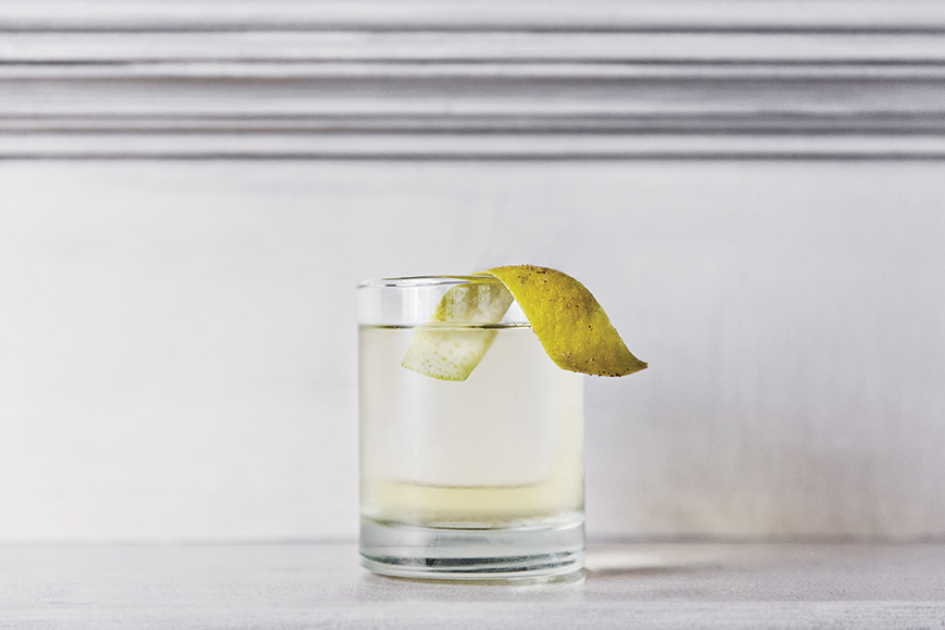 Clarified Milk Punch. | Photo by Dylan and Jeni.