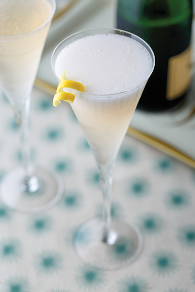 French 75. | Photo by Stuart Mullenberg.