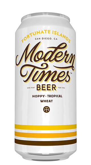 San Diego brewery Modern Times names each of its brews for a failed utopian society. The clean, simple branding was designed by Helms Workshop.