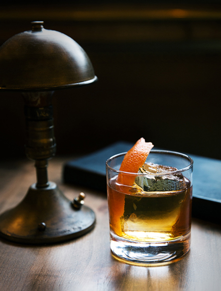 In the El Camino, a mashup of mezcal and whiskey makes for a rich, smoky combo. | Photo by Dylan + Jeni.