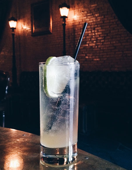 The Portuguese G&T at Juniper Tar is a refreshing blend of white port, dry gin, lime cordial and tonic.