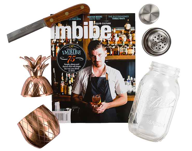 Huckberry Cocktail Kit.