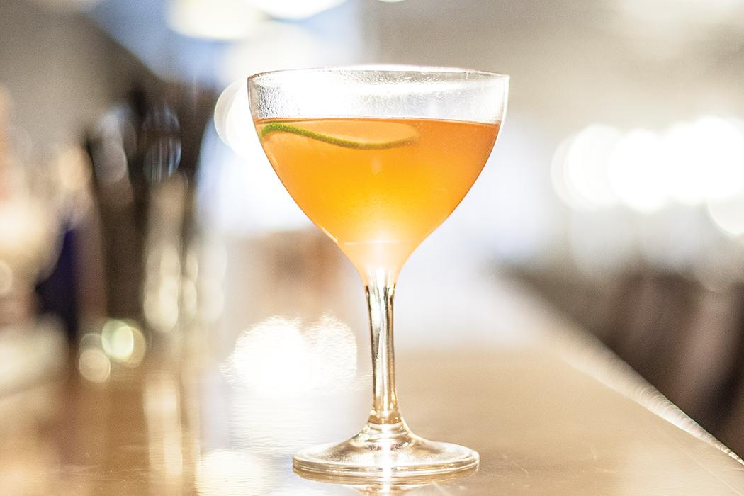The Bennett Cocktail.   Photo by Alan Gastelum.