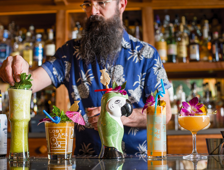 Paul McGee is the creative force behind Lost Lake, which he opened in conjunction with Chicago's Land and Sea Dept. and tiki expert Martin Cate (Smuggler's Cove, Whitechapel).