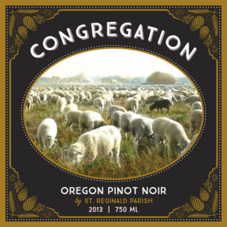 St. Reginald Parish 2013 Congregation Pinot Noir