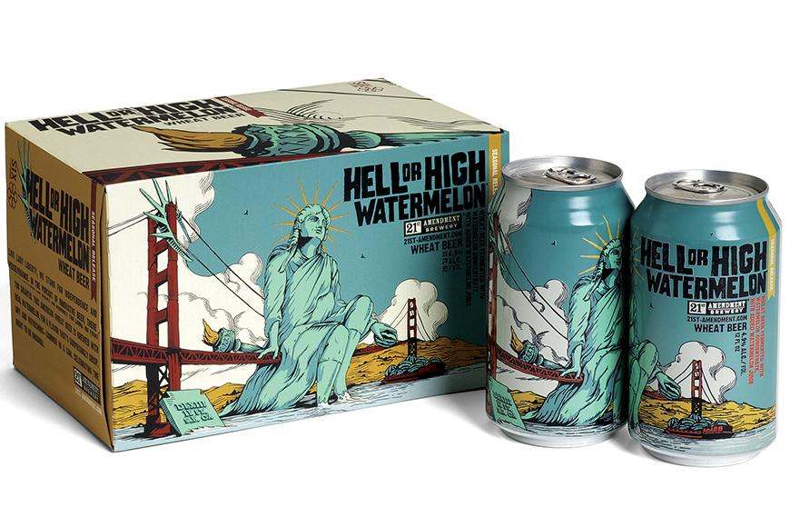 21st amendment-beer-label-design