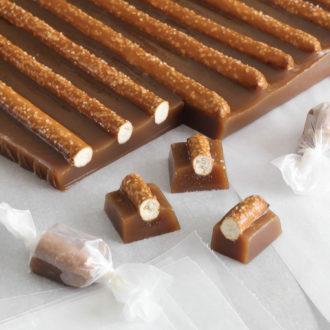 pretzel caramels