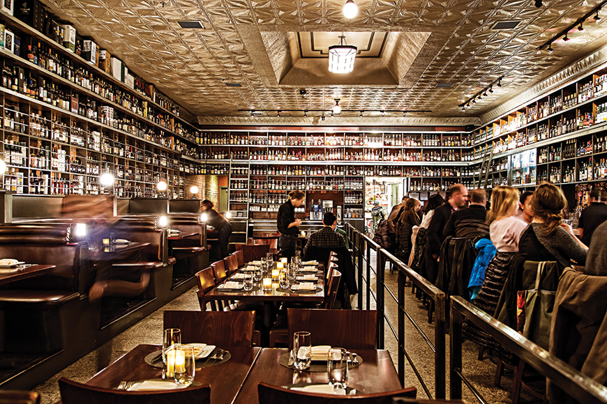 Jack Rose in Washington, D.C. is one of the country's most regal whiskey bars. | Photo by Scott Suchman