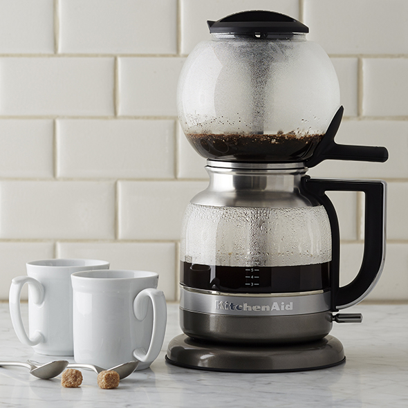 KitchenAid Siphon Coffee Brewer. Photo courtesy of Williams Sonoma.