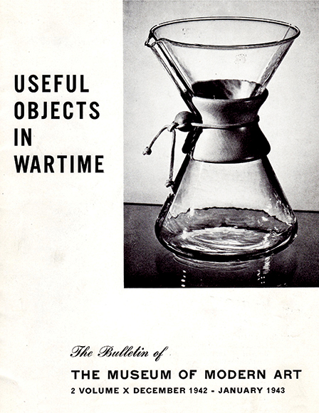 In 1943, the Museum of Modern Art displayed the Chemex as one of the best-designed products in America.