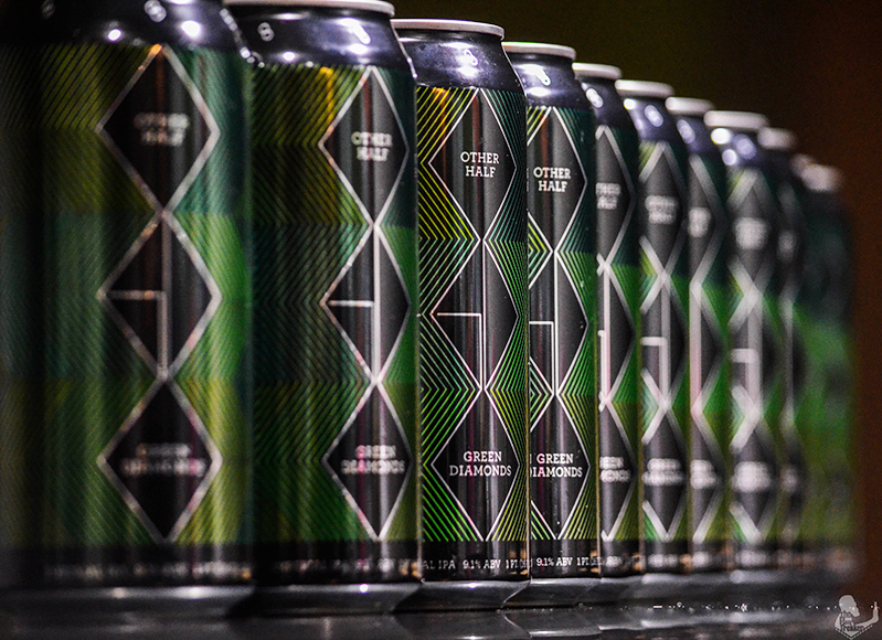 Other Half Brewing teamed up with design firm Small Stuff in 2014 to design the brewery's first can. Since then, the collaboration has spanned over 30 labels. Designer Joe Marianek says the visual branding relies heavily on
