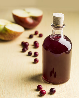 apple-cranberry shrub recipe