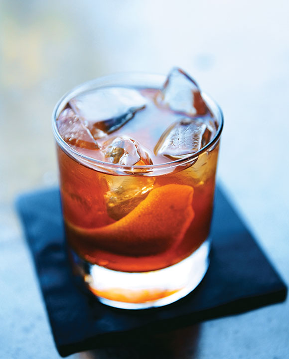 Bar Mash Old Fashioned. | Photo by Olivia Rae James.
