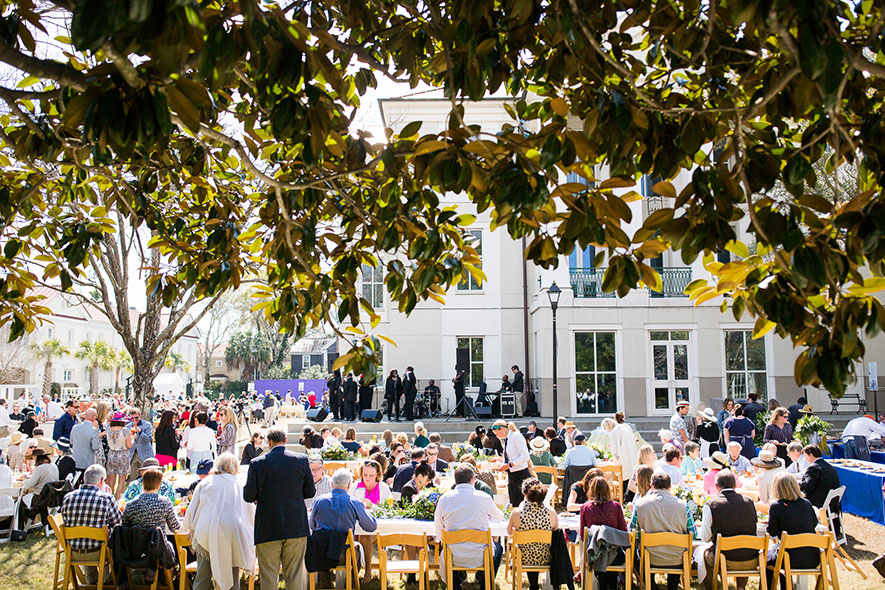 The Gospel Brunch is a highlight of the fest. | Photo by Andrew Cebulka, courtesy of Charleston Wine + Food.