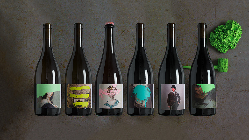 For the Cruse Wine Company identity, Force and Form aimed for an irreverent playfulness to spark curiosity.