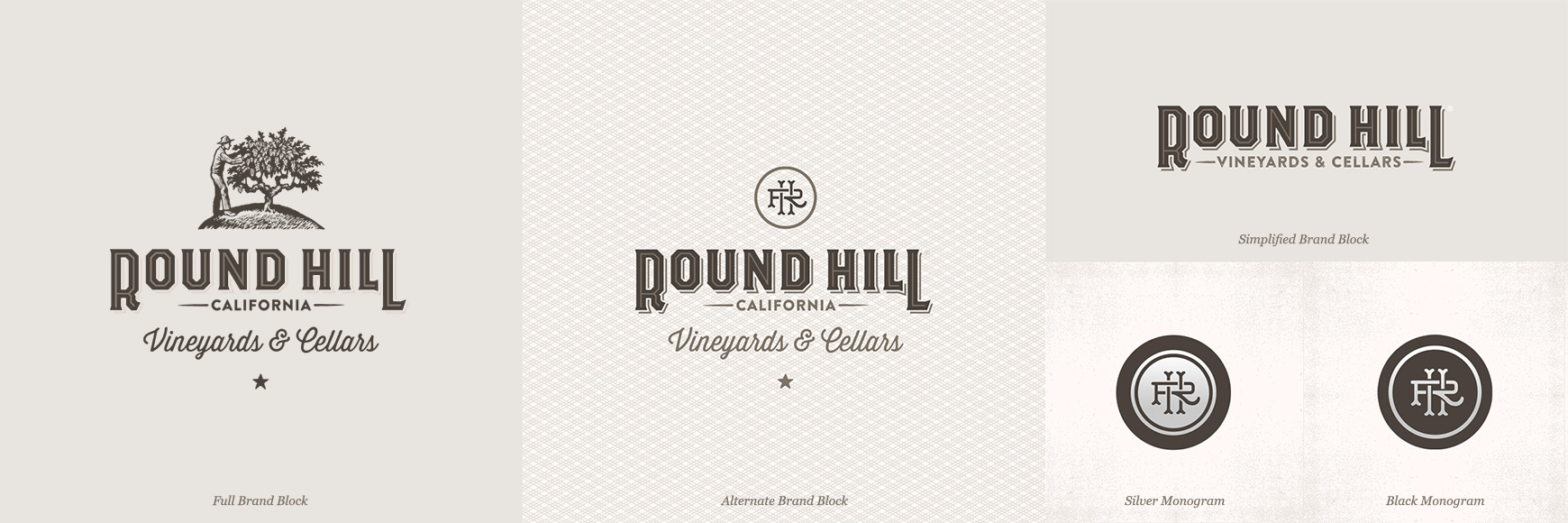 For the firm's refresh of Round Hill, they created visuals that would suit varying screen sizes and uses. The wood engravings were done by artist Chris Wormell.