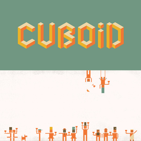Cuboid embraces the box right down to the name and 8-bit mascots.