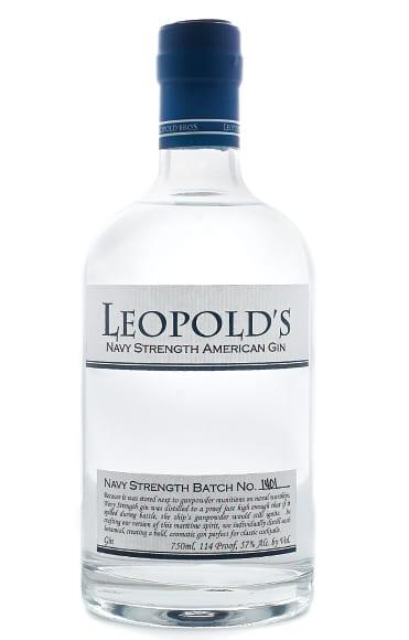navy-strength gin