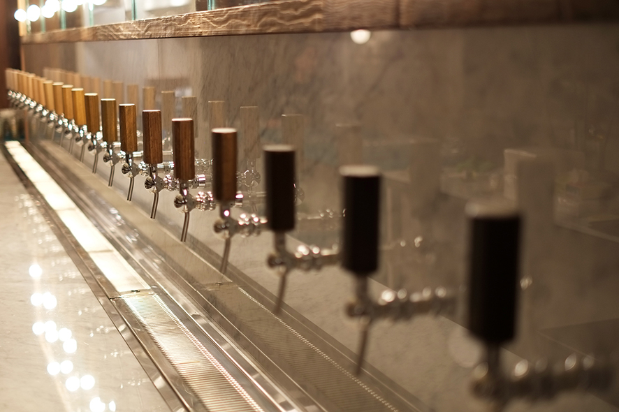 At Torst, the HOME team installed a Glycol system so beer can be served at various temperatures, depending on the style.