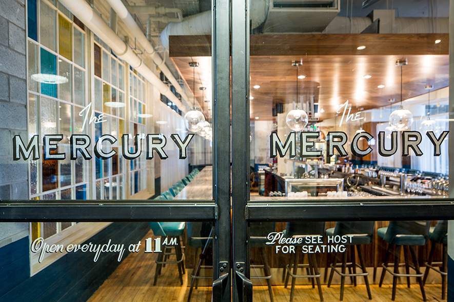 The Mercury. | Photo by Raymond McCrea Jones